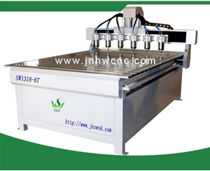 SW-1318-6T wood engraving machine